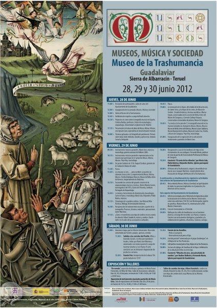 cartel Guadalaviar La música, herramienta de dinamización museológica