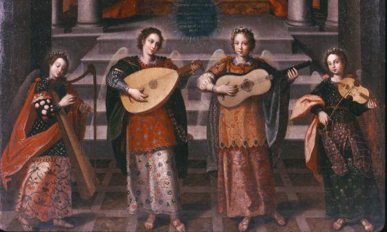 'Presentación de Jesús en el templo', cuadro de Diego Valentín Díaz, que se encuentra en el Museo Nacional de Escultura (Valladolid)